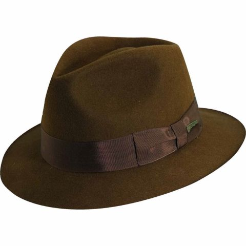 Indiana Jones Crushable Wool Fedora Hat Indiana Jones Boy 39 s Fedora Hat