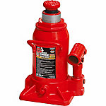 Big Red Stubby Hydraulic Bottle Jack, 12 Ton Capacity