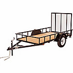 Carry-On Trailer® Wood Floor Utility Trailer, 5 ft. x 10 ft., 2,990 GVWR