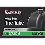 Traveller Lawn and Garden Inner Tube, 4.10/3.50-6, 4.10x3.50-6 with TR-87 Valve Stem