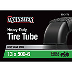 Traveller Lawn and Garden Inner Tube, 13x5.00/6.50-6 with TR-87 Valve Stem