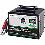 Schumacher 6/12V Manual Charger with Engine Start, 10/30/200A