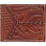 American West Men's Bi-Fold Wallet, Antique Brown