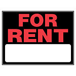 Hillman 'For Rent' Sign, 15 in. x 19 in.