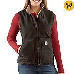 Carhartt® Ladies' Sandstone Mock Neck Vest