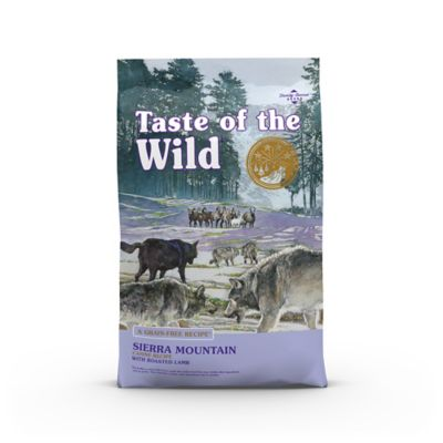 TASTE OF THE WILD SIERRA MOUNTAIN CANINE FORMULA WITH ROASTED LAMB, 30 LB. BAG