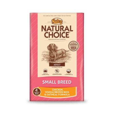 NUTRO® NATURAL CHOICE® SMALL BREED ADULT DOG FOOD, CHICKEN, WHOLE BROWN RICE & OATMEAL FORMULA 15 LB.