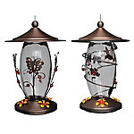 Royal Wing® Metal Butterflies & Dragonflies Hummingbird Feeder
