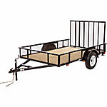 Carry-On Trailer® Wood Floor High Sided Utility Trailer, 6 ft. x 10 ft., 2,990 GVWR