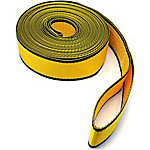 Traveller Tow Strap with Loop Ends, 5,667 lb. Safe Work Load, Yellow, 2 in. x 20 ft.