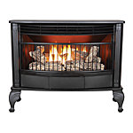 ProCom 25,000 BTU Dual Fuel Vent-Free Gas Stove with Thermostat and Blower
