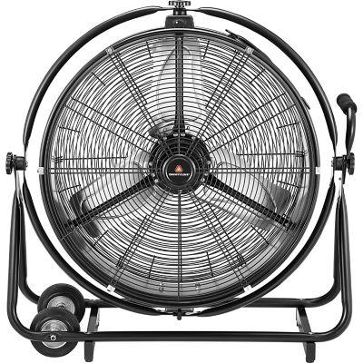 countyline® orbit drum fan, 24 in. dia.
