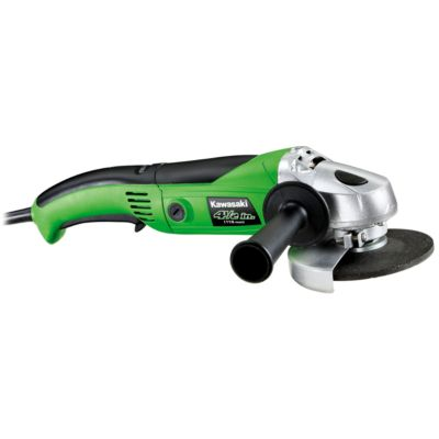 Kawasaki 7.5A Variable Speed Angle Grinder, 4-1/2 in. Wheel Dia.
