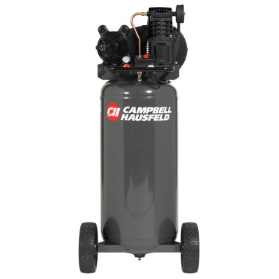 Campbell Hausfeld® 2-HP 30-Gallon (Belt Drive) Dual-Voltage Cast-Iron Air Compressor
