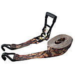 Erickson Heavy Duty Camo Ratchet Strap, 2 in. x 27 ft.