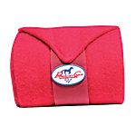 Professionals Choice Polo Wraps, Crimson Red, Pack of 4