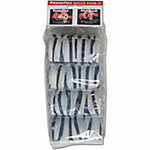 PowerFlex Value Pack, White Zebra, Pack of 4