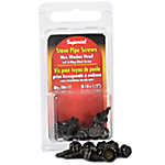 Stove Pipe HEX Screws, Pack of 12