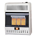 RedStone Dual Fuel Gas Infrared Heater with Thermostat, 20,000 BTU