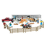 New-Ray Deluxe Rodeo Playset 1:32