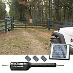 Mighty Mule RSCK350 Automatic Gate Opener Rancher Solar Combo Kit