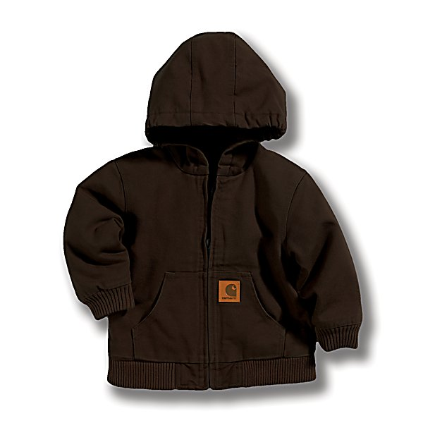 Carhartt? Toddler Boy's Active Jacket, Mustang Brown