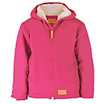 C.E. Schmidt Girl's Sanded/Washed Duck Sherpa-Lined Hooded Coat, Pink Pizazz