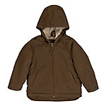 C.E. Schmidt Toddler's Sanded/Washed Duck Sherpa-Lined Hooded Coat, Bark