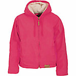 C.E. Schmidt® Ladies' Sanded/Washed Duck Sherpa-Lined Hooded Jacket