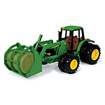 John Deere® 7220 Tractor with Bale Mover