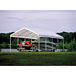 ShelterLogic® Super Max 2-in-1 Canopy and Enclosure Kit, 18 ft. W x 30 ft. L x 11 ft. H
