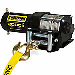 Traveller® 12V ATV Electric Winch, 2000 lb.