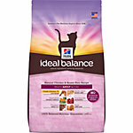 Hill's® Ideal Balance™ Natural Chicken & Brown Rice Recipe Adult Cat Food, 3.5 lb.