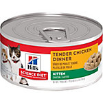 Hills® Science Diet® Kitten Tender Chicken Dinner Cat Food, 5.5 oz.