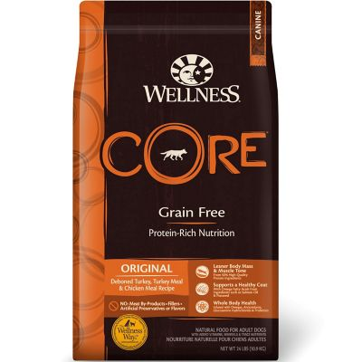 WELLNESS CORE GRAIN FREE ORIGINAL DOG FOOD, 26 LB.