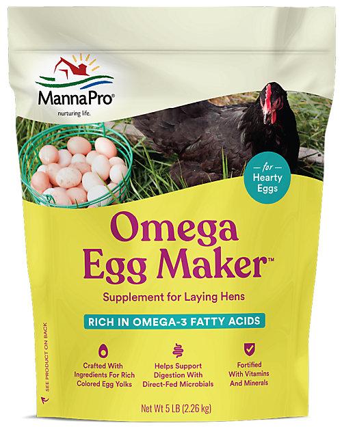 5 LB. Manna Pro Omega Egg Maker Supplement - Tractor Supply Co.