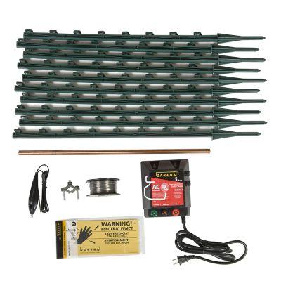 Zareba Ac Garden Protector Electric Fence Kit Kgpac Z At