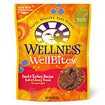 Wellness® WellBites® Beef & Turkey Recipe Adult Dog Treats, 8 oz.
