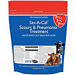 Sav-A-Caf Scours & Pneumonia Treatment Complete Calf Milk Replacer, 6 lb. Bag