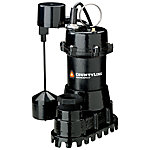 CountyLine® Cast Iron Submersible Sump Pump with Vertical Switch, 1/2 HP