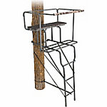 Sportsman Series Ladder Stand with Deluxe 2-Man Seat, 15 ft.