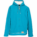 C.E. Schmidt Ladies' Sanded/Washed Duck Sherpa-Lined Hooded Coat, Turquoise