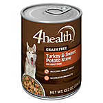 4health™ Turkey & Sweet Potato Stew Dog Food, 13.2 oz.