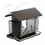 Royal Wing® Hopper Bird Feeder with Bird Detail