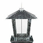 Royal Wing® Tin Roof Hopper Bird Feeder