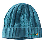 Carhartt® Ladies' Cable Knit Hat, Blue Topaz Heather