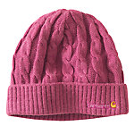 Carhartt® Ladies' Cable Knit Hat, Tulip Pink Heather