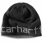 Carhartt® Men's Greenfield Reversible Hat, Heathered Black