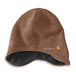 Carhartt® Men's Northern Ear Flap Hat, Brown Heather