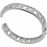 Montana Silversmiths Spring-Hinged Bangle Bracelet